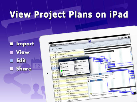 Gantt Pro - Manage MS Project Plans