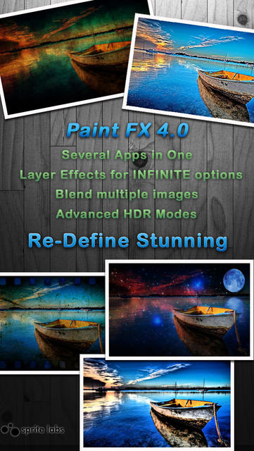 Paint FX : Photo Effects Editor - iPhone Mobile Analytics and App Store Data