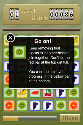 Juicy Match Lite iPhone Screenshot 2
