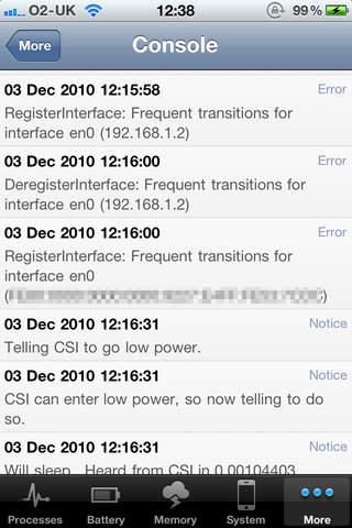 DeviceStats iPhone Screenshot 4