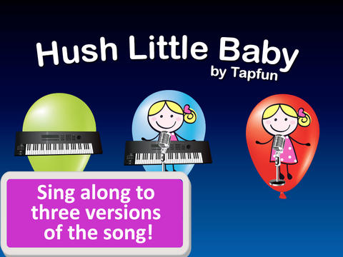 Hush Little Baby Sing Along HD