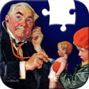 Norman Rockwell Jigsaw Puzzle Collection. Saturday Evening Post