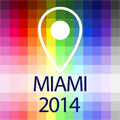 Offline Map Miami - Guide, Attractions and Transport