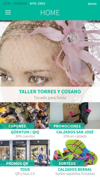 App Oficial Comercio de Cádiz