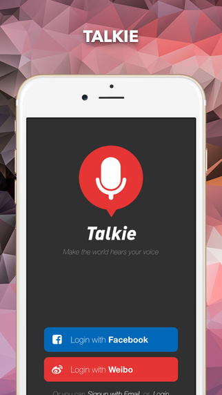 Talkie - Make the world hears your voice