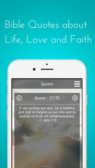 Daily Bible Quotes and Verses about Faith Life and Love