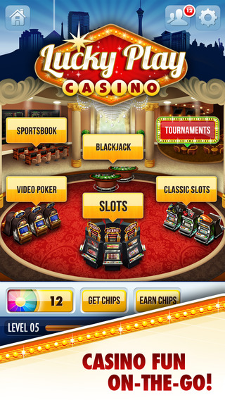 Lucky Play Casino - Free Vegas Slots Tournaments Bingo Video Poker and Blackjack