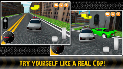 City Police Chase 3D Full screenshot 1