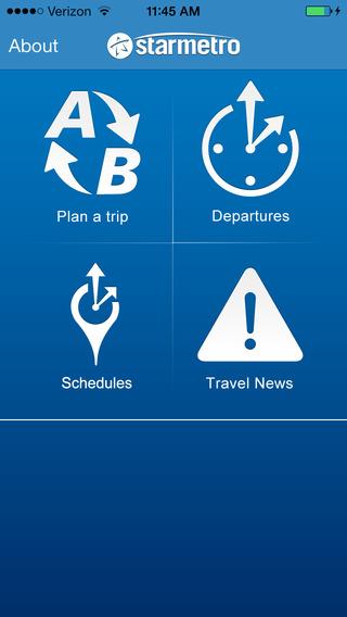 StarMetro Trip Planner