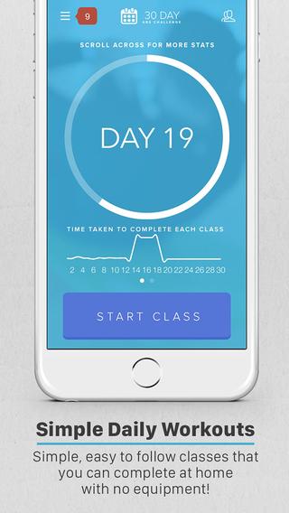 【免費健康App】30 Day Abs Challenge-APP點子
