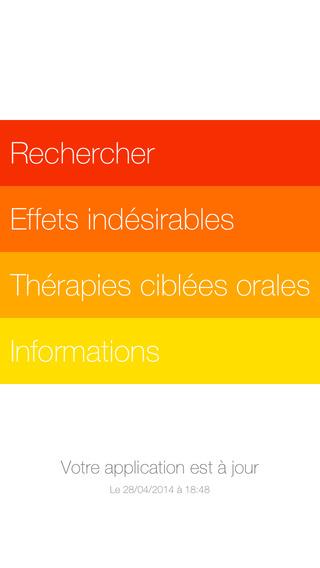 AKPO : Gestion des effets indésirables des chimiothérapies orales