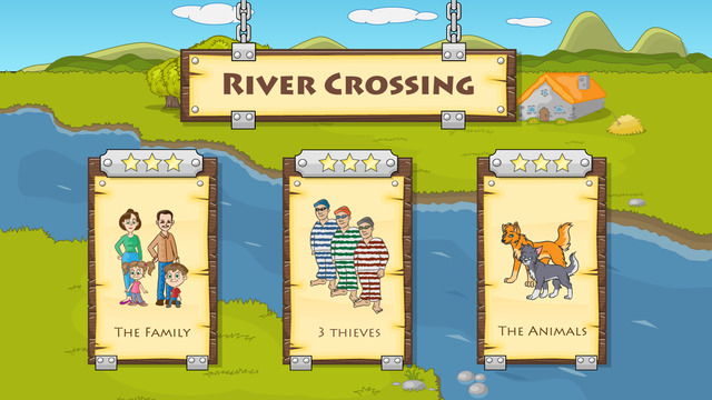 River Crossing : Logic Puzzles Pro