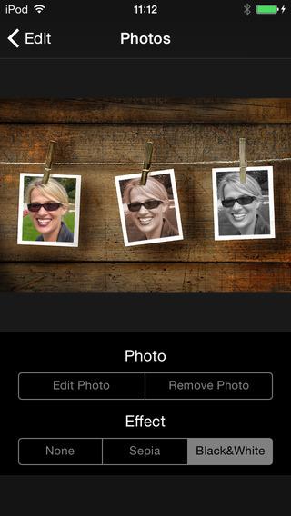 Photo C@rds iPhone Screenshot 3
