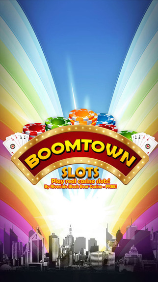 Boomtown Slots - Play real casino slots - By Riverside Black Bear Casino Pro
