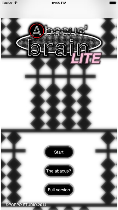 Abacus' brain Lite iPhone Screenshot 1