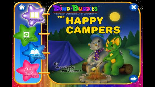Dino-Buddies™ – Los Campistas Felices eBook App Interactivo Spanish