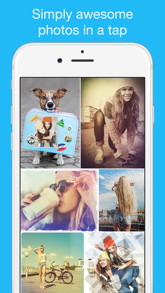 Photo Lab - Fun Picture Editor: Frames Filters Collage Maker. Create Funny Ecards Greeting Card Imag