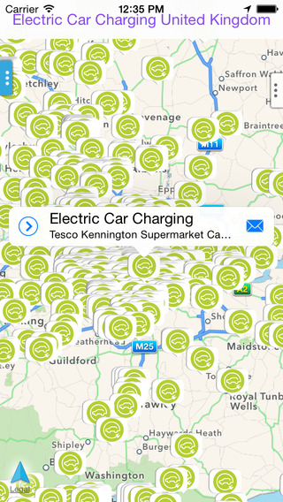 Electric Car Charging United Kingdom