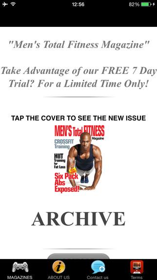 Men's Total Fitness Magazine