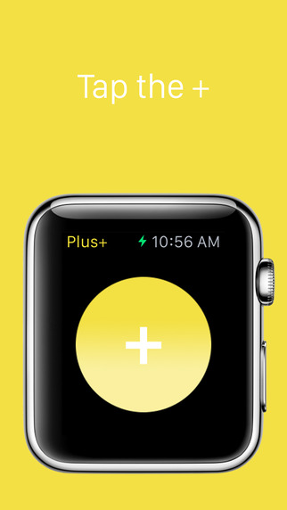 Plus+ — A simple tap counter for Apple Watch