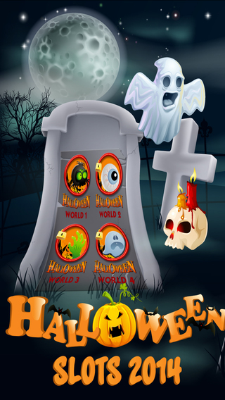 '$$$ A Halloween Slots Machine Trick Or Treat Haunted Casino Party 2014
