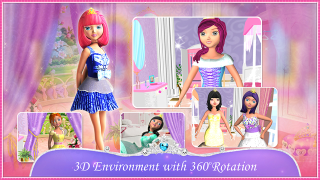 Doll Dress Up 3D - Fantasy Fashion Makeup Beauty Makeover Game for Girls