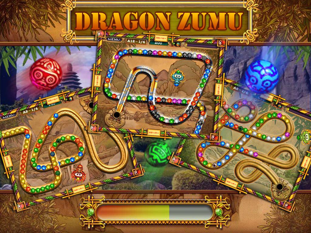 Zuma Deluxe - Zuma Dragons