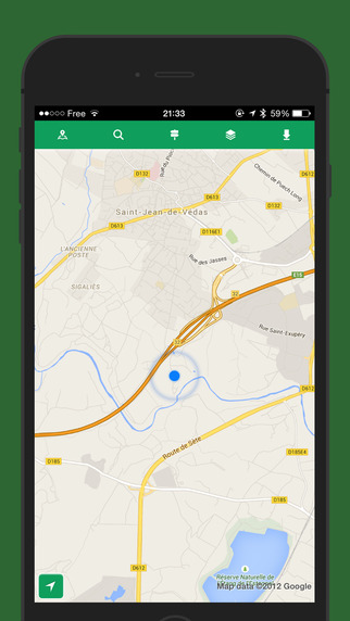 Offline Maps - Offline Maps for Map Quest, Open Street Maps, Cycle Maps, Google Maps and Bing Maps Screenshots