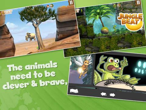 Jungle Beat 앱스토어 스크린샷