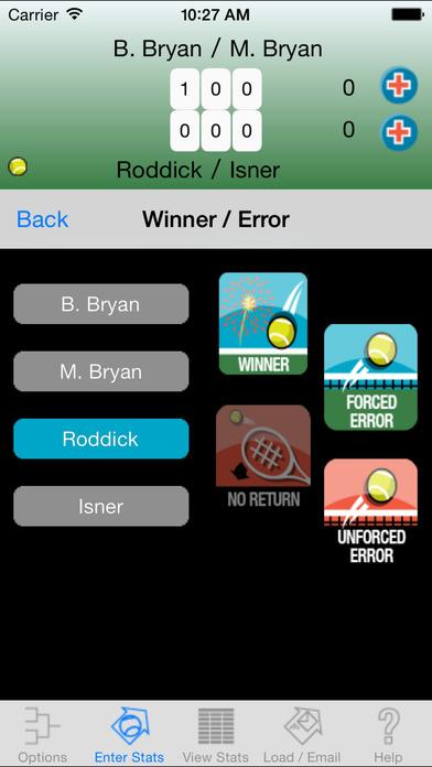 My Tennis Stats Lite iPhone Screenshot 4