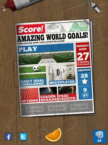 Screenshots of Score! World Goals for iPad