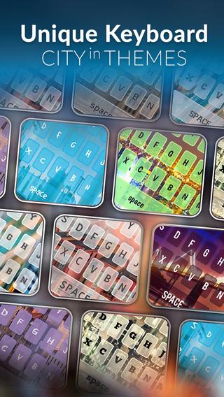 KeyCCM – City Town Custom Wallpaper Keyboard Theme