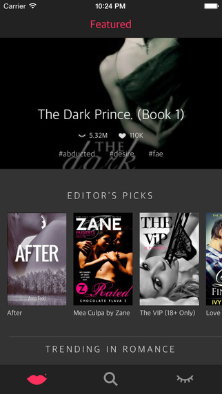After Dark: Wattpad free books for sexy romance fanfiction mature fiction ebook reader