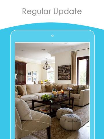 Family room interior design styler catalog app app for Room interior design app