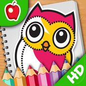 儿童教育 – 我爱画动物 [iPad]
