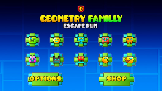 Geometry Familly Escape Run - Impossible Tiny Pixel Tap Racing Adventure