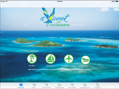 Discover St. Vincent and the Grenadines French Version