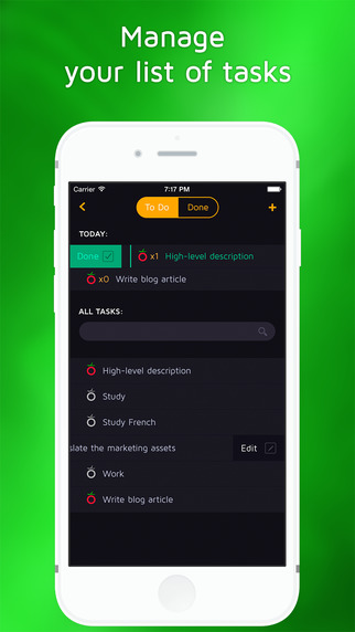 Focus Watch: Pomodoro Timer & Task Manager for work and study