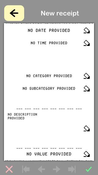 Easy Receipt - Fast Receipt Logger