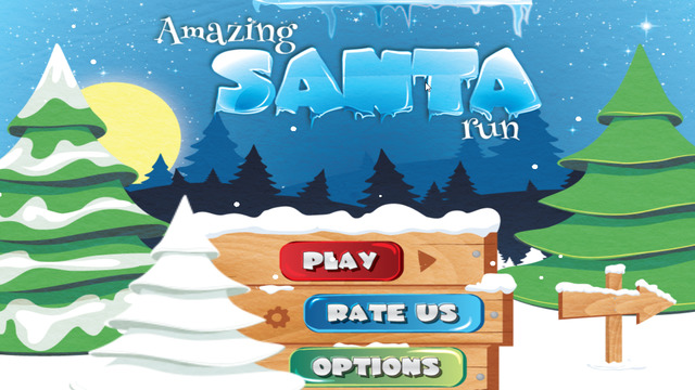 Amazing Santa Run - Christmas game for kid