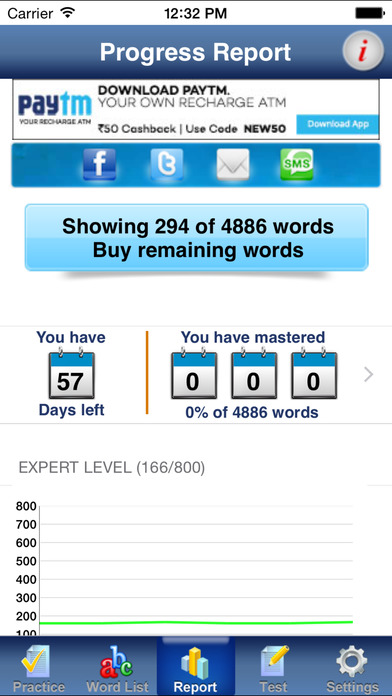 PowerVocab for GRE and GMAT iPhone Screenshot 3