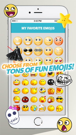 玩免費書籍APP|下載FunMoji : My Favorite Emojis Plus Pro app不用錢|硬是要APP