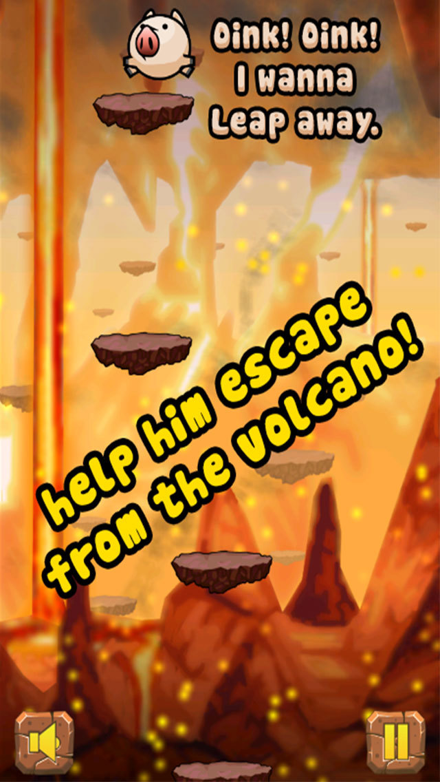 Oink! Leap Away - The endless jumping game for free