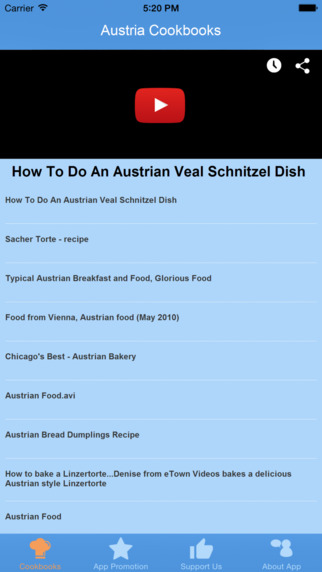 Austria Cookbooks - Video Recipes