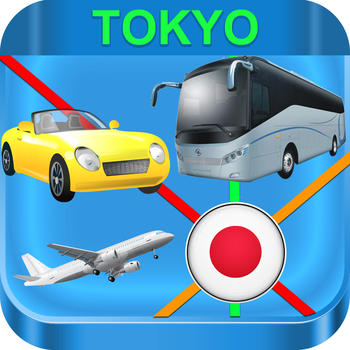 Tokyo Metropolis Subway Maps 交通運輸 App LOGO-APP開箱王