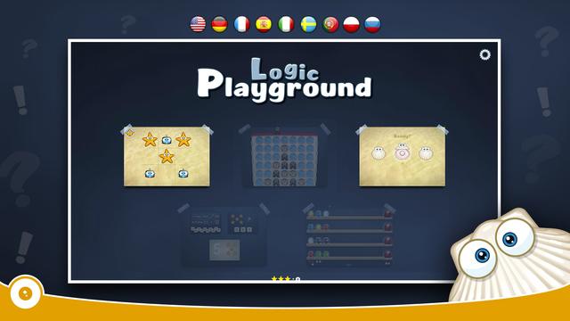 Logic Playground FREE - Tic Tac Toe Thimblerig for Kids