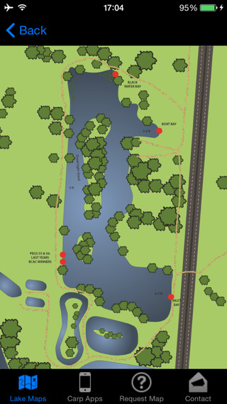 Carplakemaps - Carp Fishing feature maps