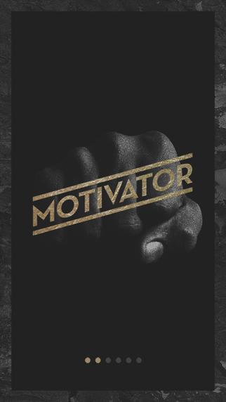 Motivator. La motivación necesaria para afrontar el día a día.