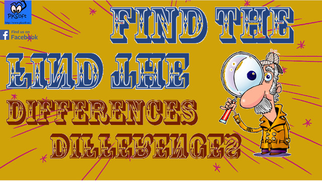 Find The Differences Detective Free