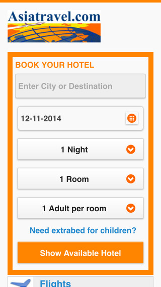 Asiatravel.com Hotel Wizard